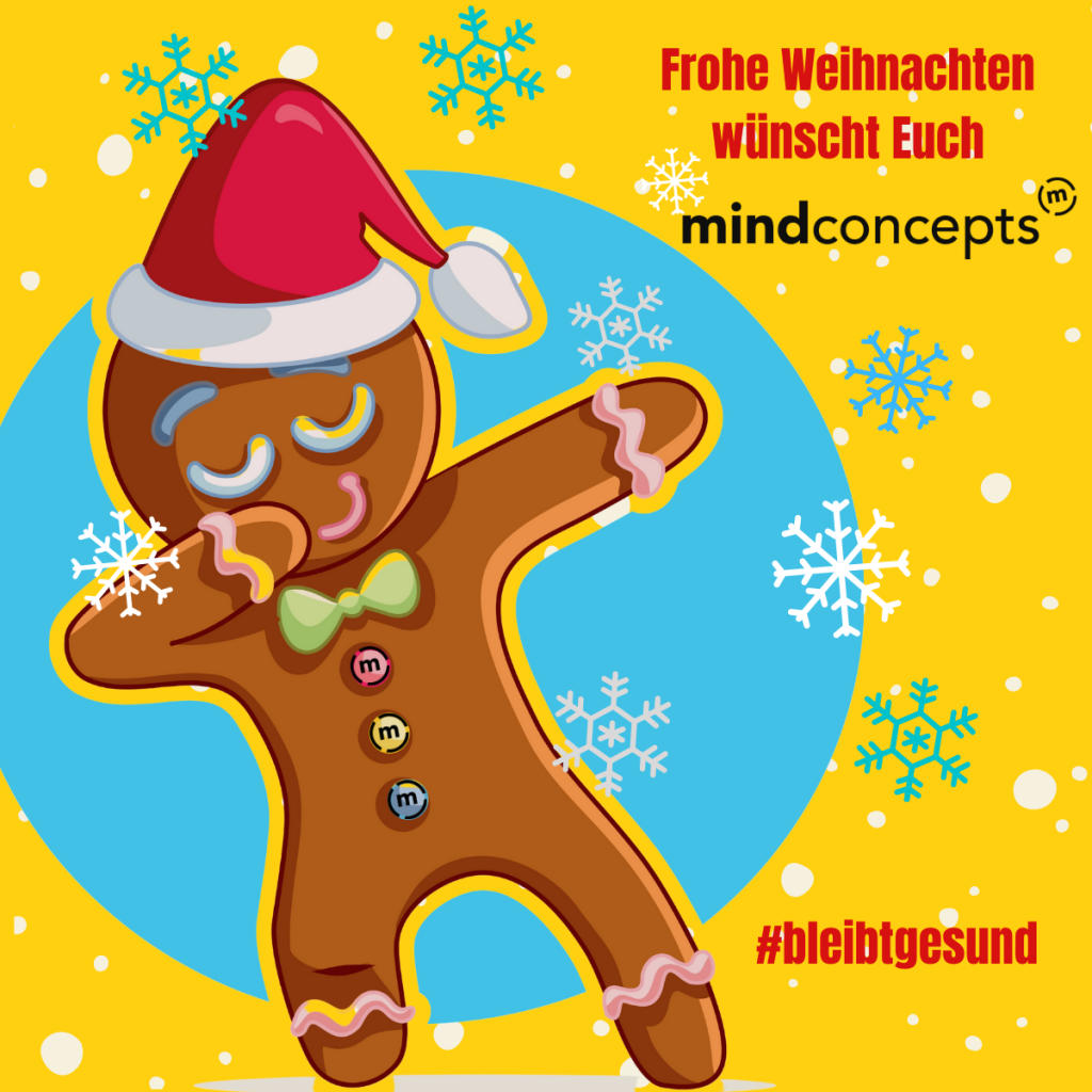 Frohe Weihnachten von mindconcepts